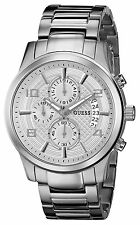 GUESS Men's U0075G3 Masculine Stainless Steel Retro Chronograph stylish Watch