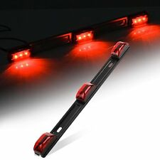 1PC Trailer Truck LED ID BAR Light RED 2-Diode light surface mount Submersible