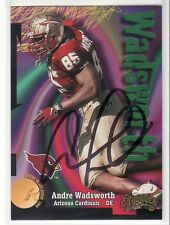 ANDRE WADSWORTH FLORIDA STATE UNIVERSITY  AUTOGRAPHED ROOKIE CARD