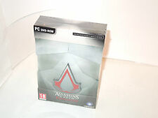 ASSASSIN'S CREED COLLECTOR'S EDITION brand new sealed pc big box videogame CE