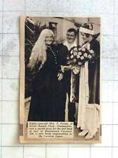 1937 80-year-old Mrs E Prowse North Russell Farm Okehampton Honicknowle Carnival