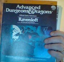 Ad&d dungeons and dragons Ravenloft adventure module