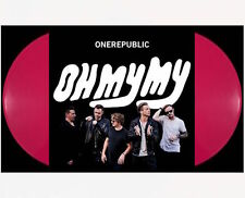 ONEREPUBLIC Oh My My 2xLP on RED VINYL New STILL SEALED colored ONE REPUBLIC