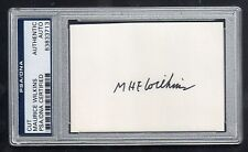 MAURICE WILKINS Signed Cut - PSA/DNA Certified Authentic Autograph Nobel Prize