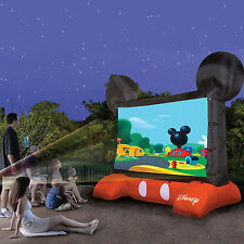 HUGE MICKEY MOUSE DISNEY INFLATABLE PROJECTION OUTDOOR MOVIE TV SCREEN NEW