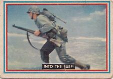 Vintage 1953 Topps Fighting Marines Trading Card #13