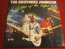 "12"" THE BROTHERS JOHNSON Light Up The Night A&M RECORDS"