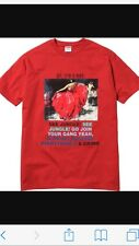Supreme Red Dancer Tee /Large / Sold Out Worldwide