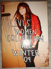 Levi's fashion catalog MINI 2009 Winter Women jeans pants coat jacket skirt