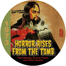 """Horror Rises from the Tomb (1973) Classic Sci-fi and Horror """"B' Movie DVD NR"""
