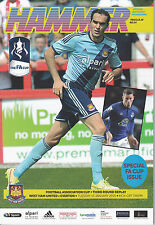 West Ham United v Everton (FA Cup 3rd round replay) 13/1/15 (2014-2015)