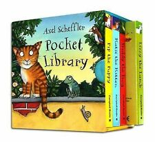 NEW  AXEL SCHEFFLER POCKET LIBRARY Freddy Frog Pip Puppy Katie Kitten Lizzy Lamb