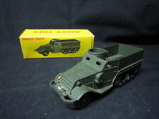 DV4124 DINKY TOYS FR HALF-TRACK M3 WHITE  1/ 50 REF 822 EN BOITE