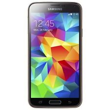 Samsung - Galaxy S 5 Cell Phone (Unlocked) - Gold