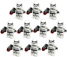 10 NEW LEGO STAR WARS STORMTROOPER MINIFIG LOT 75159 75165 75060 75172 rogue one