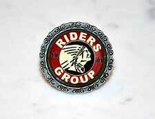 Indian Riders Group Metal Pin with 3D sticker - Badge Abzeichen Emblema divisa
