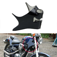 Black ABS Plastic Frame Neck Cover Cowl for Honda Shadow VT600 VLX 600 1988-2006
