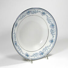 "Noritake Contemporary China Blue Hill 7.5"" Individual Soup Bowl Sri Lanka 2482"