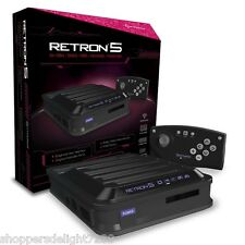 Hyperkin RetroN 5 Retro Video Gaming System Console - BLACK - NEW FOR 2015!