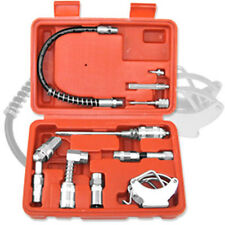 Multi Function Lubrication Grease Gun Kit hoses couplers Air And Manual
