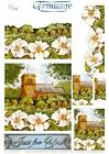 3D Trinitage Pop-up Card Making Paper Lily Lane Chapel NEW