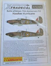 Xtradecal 1/72 X72225 Hurricane Mk I 'Battle of Britain' set 2 Decals