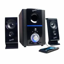 Supersonic SC1120 2.1-Channel USB Multi-Media Speakers