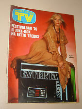 TV SORRISI CANZONI=1976/27=PATTY PRAVO=TERENCE HILL=LUCIO BATTISTI=JOCELYN=