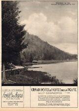 88 GERARDMER HOTEL DE LA POSTE LUXEUIL LES BAINS HOTEL DES BAINS PUB 1930