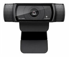 Logitech HD Pro Webcam C920 Widescreen Video Calling/Recording 1080p Camera