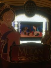 Disney Pin Mulan  cel Piece Of Movie History Movies PODM Rare Le