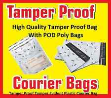 Self Adhesive 14x18 Tamper Proof Poly Bag Packing Material Courier Bag 100PcsPOD