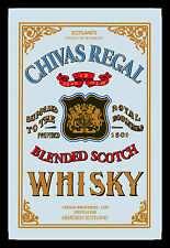 Chivas Regal Scotch Whisky Nostalgie Barspiegel Spiegel Bar Mirror 22 x 32 cm