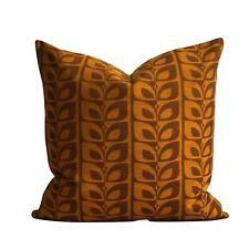 "Cushion Cover Orginal Vintage Fabric 16"" x 16"" Mid Century Ercol G Plan"