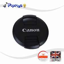 New 77mm 77 mm Pinch Snap On Front Lens Cap For Canon E-77 II