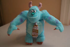 "7"" SULLY FROM DISNEY PIXAR MONSTERS INC BLUE PURPLE STUFFED ANIMAL PLUSH DOLL"