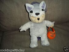 STARBUCKS COFFEE  BEARISTA HALLOWEEN BEAR PLUSH DOLL FIGURE TRICK OR TREAT TOY