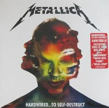 Metallica HARDWIRED... TO SELF-DESTRUCT 180g +MP3s NEW RED COLORED VINYL 2 LP