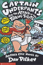 NEW  CAPTAIN UNDERPANTS and the ATTACK OFTHE TALKING TOILETS   book 2