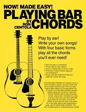 Playing Bar Chords Sheet Music Book NEW 000333482
