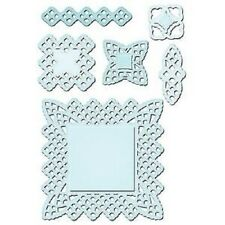SPELLBINDERS Shapeabilities LACE DOILY MOTIFS 6 Dies S5-063 Designer Collection