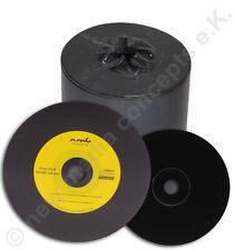 100 GIALLO Etichetta Schallplattendesign vinile CD vuoti - Carbonio da MPO