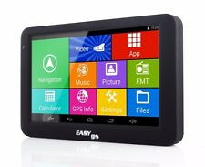 "EasyGo A505 5"" Android 4.4 Car GPS Navigator 1GB RAM 8GB QuadCore WiFi Bluetooth"