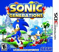 Sonic Generations Nintendo 3DS Game Brand New and Sealed