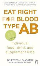 Eat Right for Blood Type AB by Dr. Peter J. D'Adamo