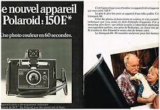 Publicité Advertising 1974 (2 pages) Appareil photo Polaroid Colorpack 88