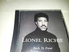 cd lionel richie back to front