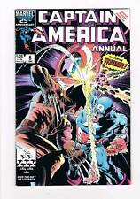 Captain America Annual # 8 Tess One! High Grade Wolverine!