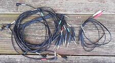 """Alesis 8-wire wiring harness / snake 1/4"""" mono (TS) jacks + Stereo (TRS) cable"""