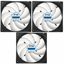 3 X Pack Arctic refrigeración F14 140mm Case Fan 1300 Rpm